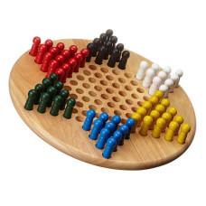 Kinaschack i trä Klassiskt L for 2-6 spelare