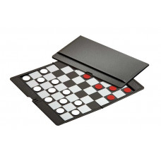 Draughts 8x8 cassette magnetic pocket