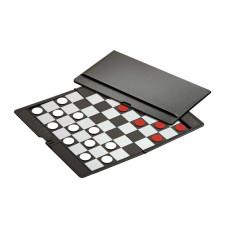Damspel 8x8 Kassett Magnetiskt Pocket