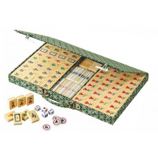 Mahjong komplett set Tradition med arabiska tecken (3162)