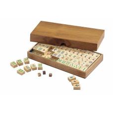 Mahjong komplett set Coffer med kinesiska tecken