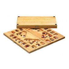 Mancala 2-4 players wooden sociable version