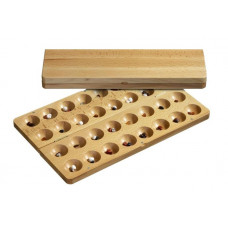 Omweso set Classic L (Mancala advanced version)