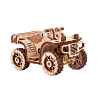 Wooden 3D puzzle ATV CAR