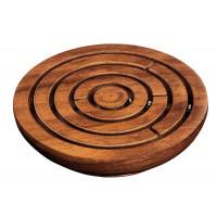 Labyrint i sheesham-trä