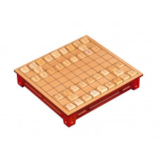Shogi game Standard Made of Basswood (3207)