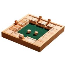 Canoga Fyrdubbel Game Pub/kafé-spel i trä